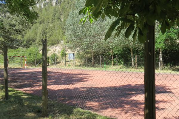 Fútbol Camping Cañón Río Lobos