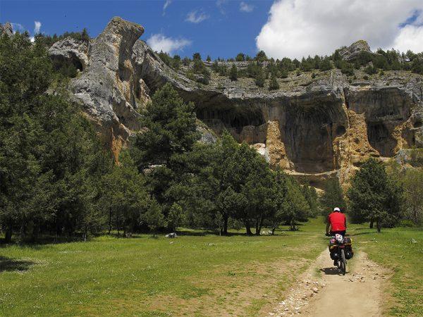 Rutas BTT desde el Camping Cañón del Río Lobos