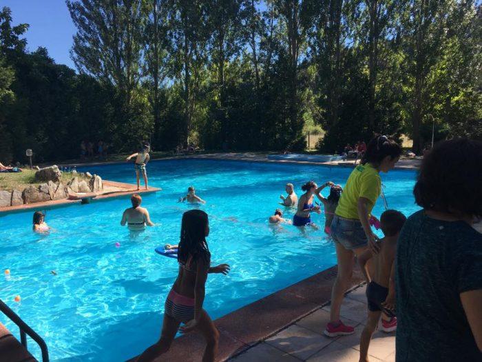 piscina camping